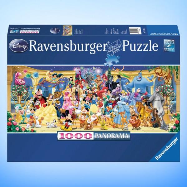 """Disney Puzzle """"Disney Gruppenfoto"""" von Ravensburger 15109"""