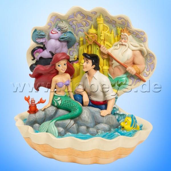 Seashell Scenario (Arielle, die Meerjungfrau Muschel-Szene) Figur von Disney Traditions / Jim Shore - Enesco 6005956