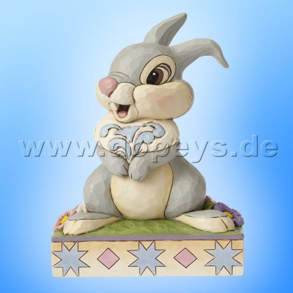 "Disney Traditions / Jim Shore Figur von Enesco ""Hopping into Spring (Klopfer 75 Jahre Jubiläumsfigur)"" 4055428."
