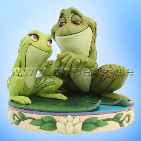 Amorous Amphibians (Tiana & Naveen als Frösche) Figur von Disney Traditions / Jim Shore - Enesco 6005960