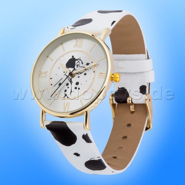 "Disney Armbanduhr ""101 Dalmatiner"" elegant hochwertige Sammleruhr"