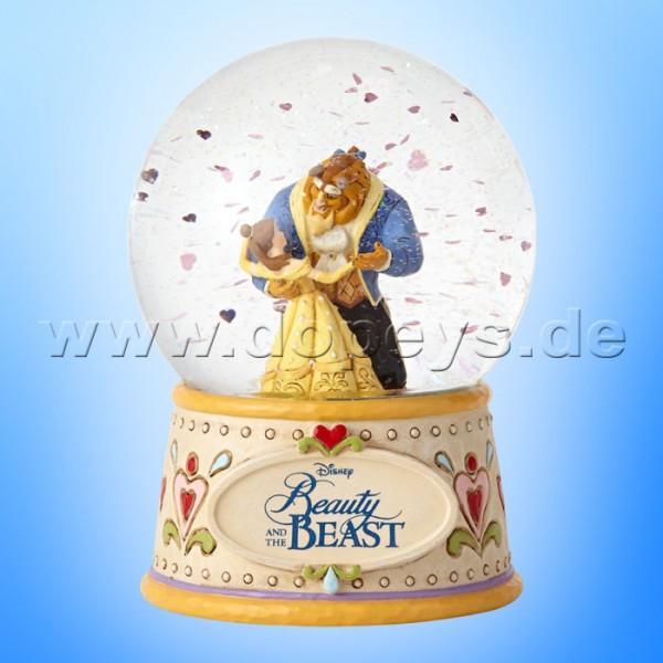 Disney Traditions - Moonlight Waltz (Die Schöne und das Biest Schneekugel) von Jim Shore 4059189