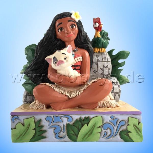 Disney Traditions - Welcome to Motunui (Vaiana mit Pua & Hei Hei) von Jim Shore 6008078