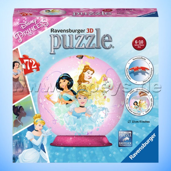 "Disney 3D Puzzle-Ball ""Disney Princess"" von Ravensburger 11809"