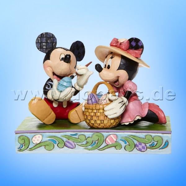 Disney Traditions - Easter Artistry (Mickey & Minnie bemalen Ostereier) von Jim Shore 6008319
