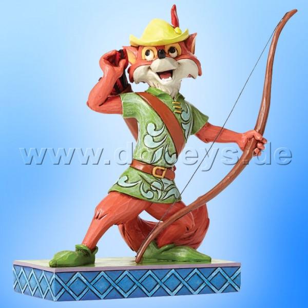 "Disney Traditions / Jim Shore Figur von Enesco ""Roguish Hero (Robin Hood)"" 4050416."