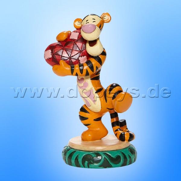 Disney Traditions - Heartfelt Hug (Tigger hält Herz im Arm) von Jim Shore 6008073