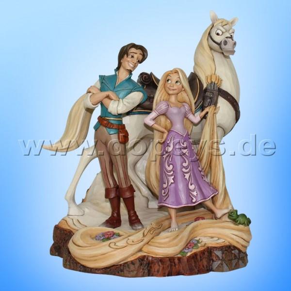 """Disney Traditions / Jim Shore Figur von Enesco """"Live Your Dream (Rapunzel Baumstamm)"""" 4059736"""