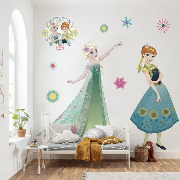 "Disney Vlies Fototapete selbstklebend Die Eiskönigin ""Frozen Springtime XXL"" 127cm x 200cm"