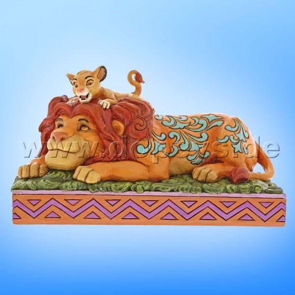 """Disney Traditions / Jim Shore Figur von Enesco """"A Father's Pride (Simba & Mufasa)"""" 6000972"""