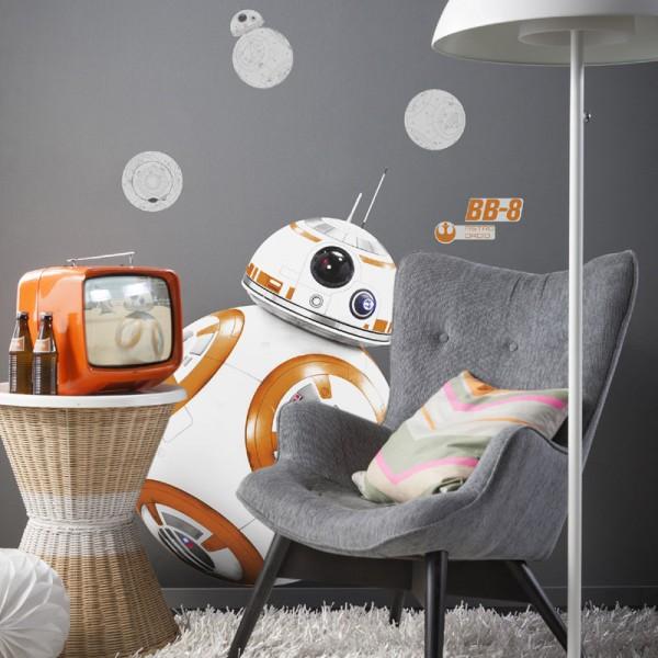 "Star Wars Wandsticker / Wandaufkleber ""BB-8"""
