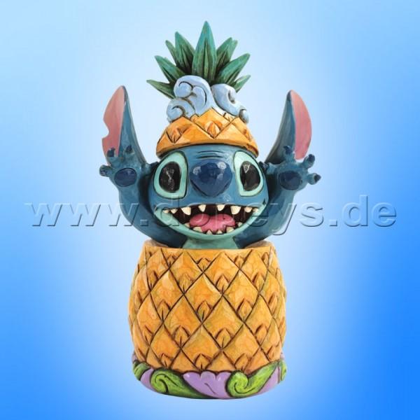 Disney Traditions - Pineapple Pal (Stitch in einer Ananas) von Jim Shore 6010088