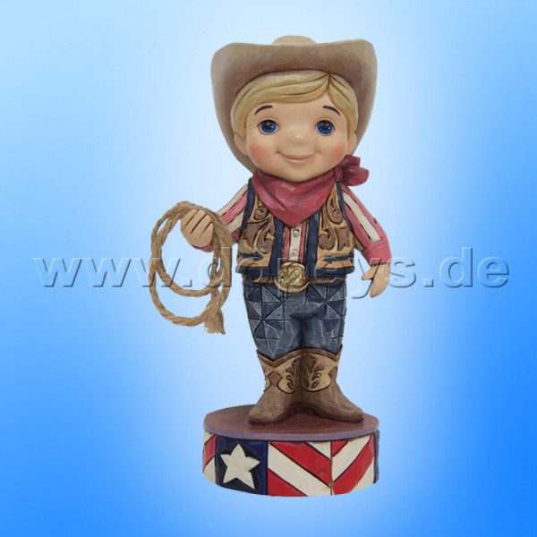 "Disney Traditions / Jim Shore Figur von Enesco ""Welcome to America (Small World USA)"" 4055425."