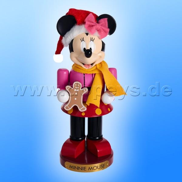 """Kurt S. Adler - Disney Nussknacker """"Minnie Maus"""" mit Lebkuchenmännchen DN6172L"""