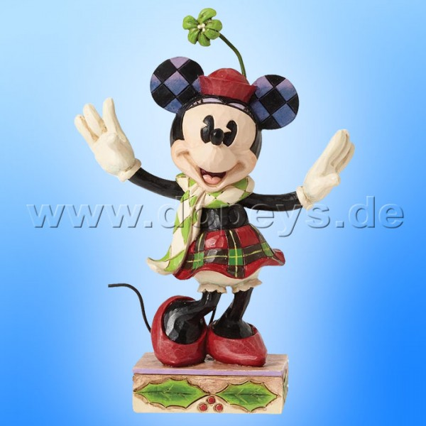 "Disney Traditions / Jim Shore Figur von Enesco ""Merry Minnie Mouse"" 4051967."