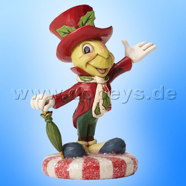 "Disney Traditions / Jim Shore Figur von Enesco ""Jolly Jiminy (Jiminy Grille)"" 4051974"