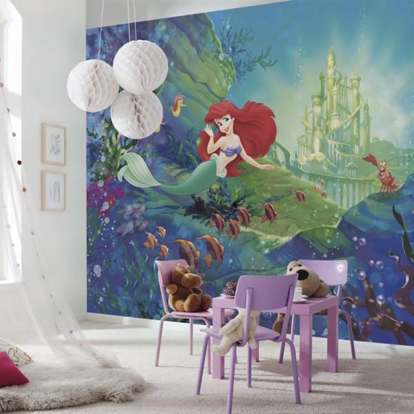 """Disney Arielle Fototapete """"Ariel's Castle"""""""