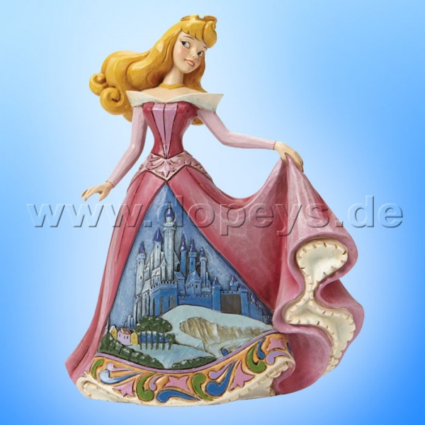 "Disney Traditions / Jim Shore Figur von Enesco. ""Once Upon a Kingdom (Aurora)"" 4045242."