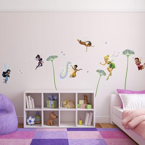 """Disney Wandsticker / Wandaufkleber Tinker Bell """"Fairies"""""""