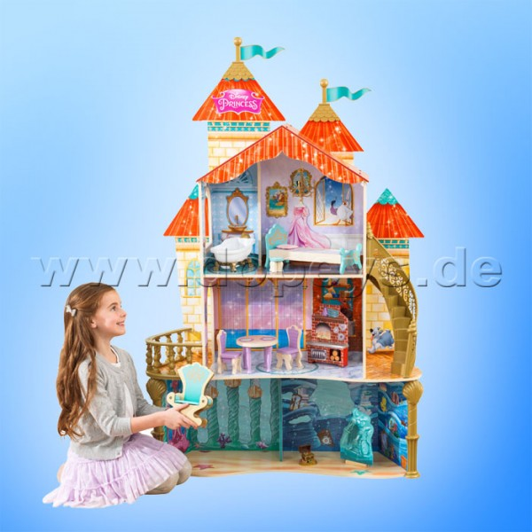 "Puppenhaus Disney Princess Ariel ""Land to Sea Castle"" von KidKraft 65939"