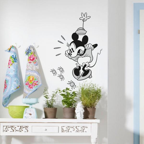 """Disney Wandsticker / Wandaufkleber """"Minnie Scream"""""""