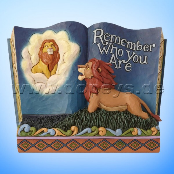 Remember Who You Are (Der König der Löwen Märchenbuch) Figur von Disney Traditions / Jim Shore - Enesco 6001269