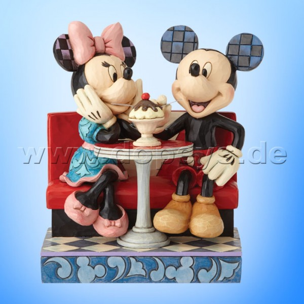 Disney Traditions - Love Comes In Many Flavours (Mickey & Minnie im Eiscafe) von Jim Shore 4059751