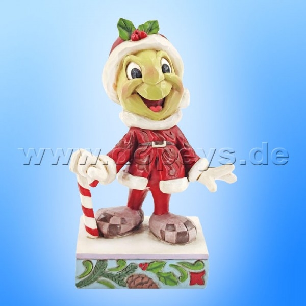 Disney Traditions - Be Wise and Be Merry (Jiminy Grille als Weihnachtsmann) von Jim Shore 6008986