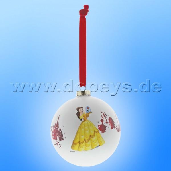 """Disney Enchanting Collection - Die Schöne und das Biest Weihnachtskugel / Glaskugel """"Be Our Guest"""" A29683"""
