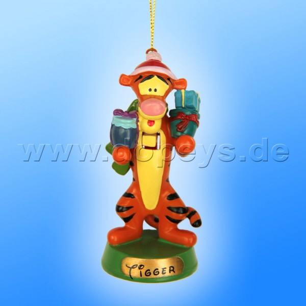 """Kurt S. Adler - Disney """"Tigger Nussknacker"""" Weihnachtsbaumanhänger / Ornament DN6805O"""
