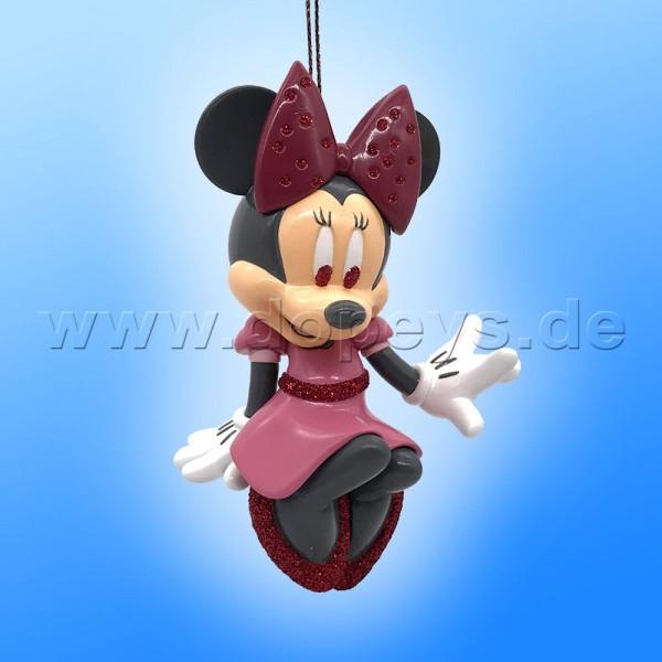 "Kurt S. Adler - Disney ""Minnie's Glitter"" Minnie Maus - Weihnachtsbaumanhänger / Ornament DN32008"