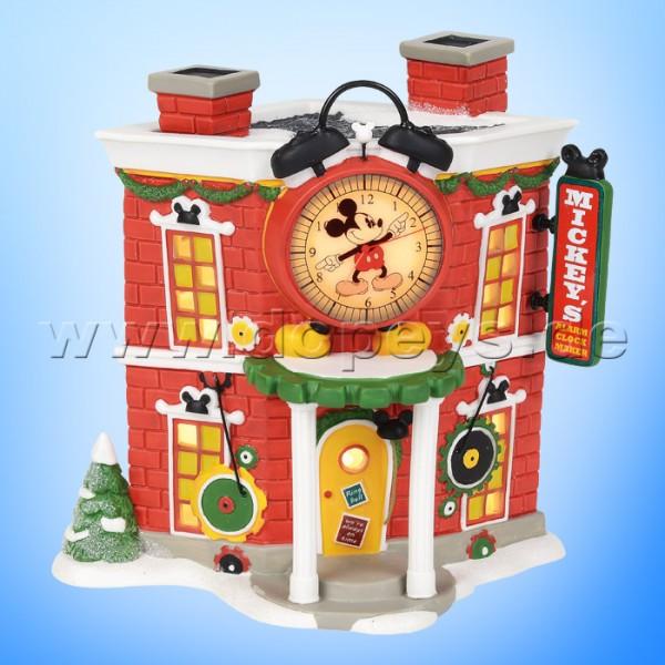 Disney Village - Mickey's Weihnachts-Wecker Shop A30082