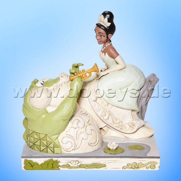 Disney Traditions - Bayou Beauty (Tiana mit Louie White Woodland) von Jim Shore 6008065