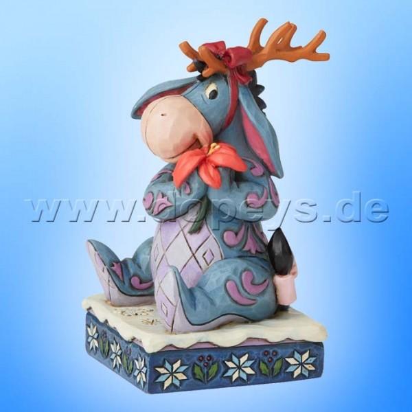 Winter Wonders (I-Aah als Weihnachts-Elch) Figur von Disney Traditions / Jim Shore - Enesco 6002844