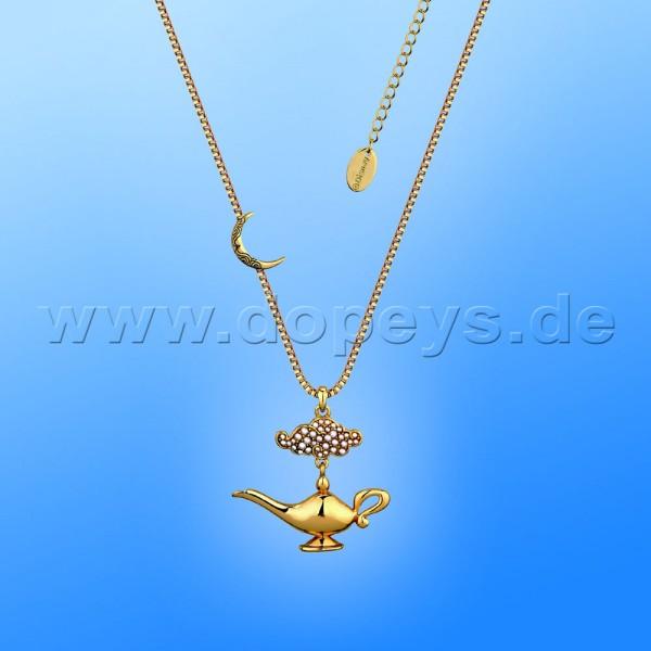 Disney Halskette - Dschinni Lampe (Aladdin) in Gold von Couture Kingdom 12101761