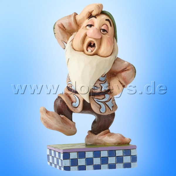 "Disney Traditions / Jim Shore Figur von Enesco. ""Sleepy Slide (Schlafmütze)"" 4049629."