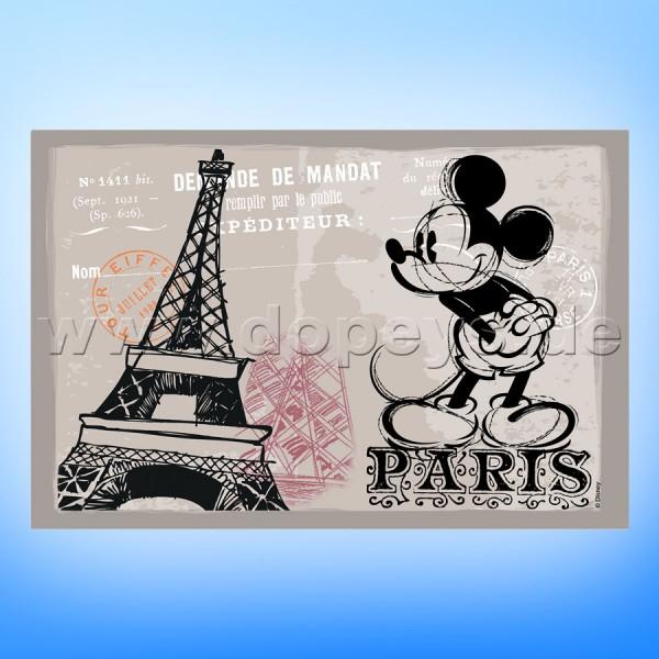 """Disney Platzdeckchen / Unterlage Mickey Maus """"Paris"""" im italienischen Design"""