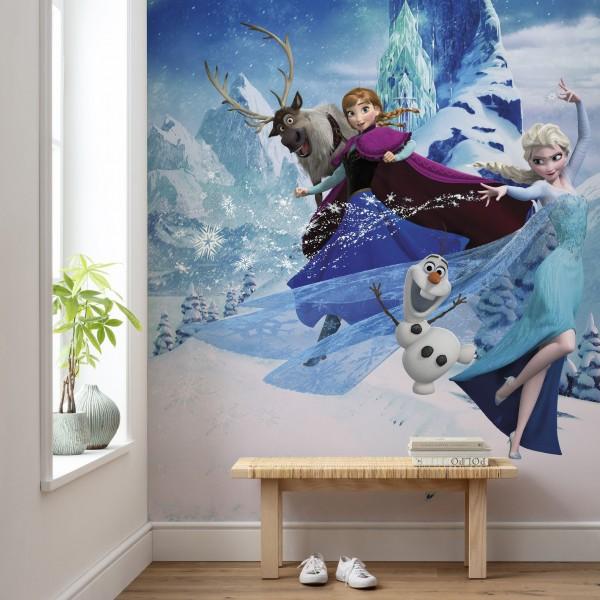 """Disney Vlies Fototapete Die Eiskönigin """"Frozen Elsas Magic"""""""