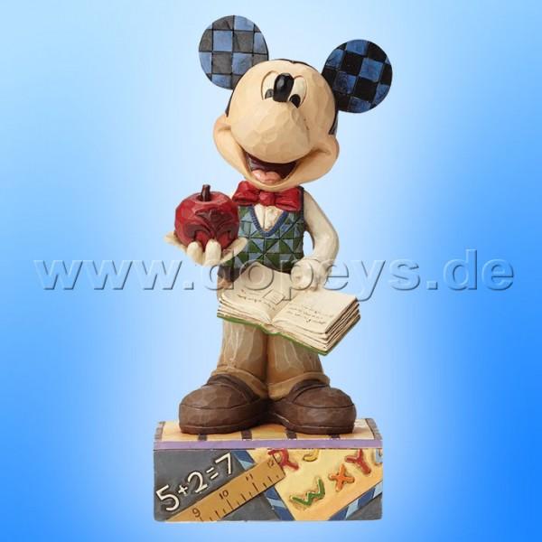 "Disney Traditions / Jim Shore Figur von Enesco. ""Class Act (Lehrer Mickey Maus)"" 4049634."