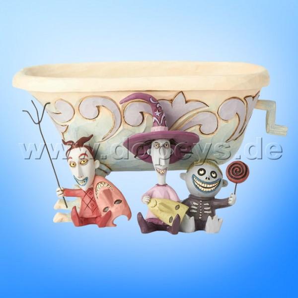 "Disney Traditions / Jim Shore Figur von Enesco ""Tricksters and Treats (Lock, Shock & Barrel)"" 6000953"