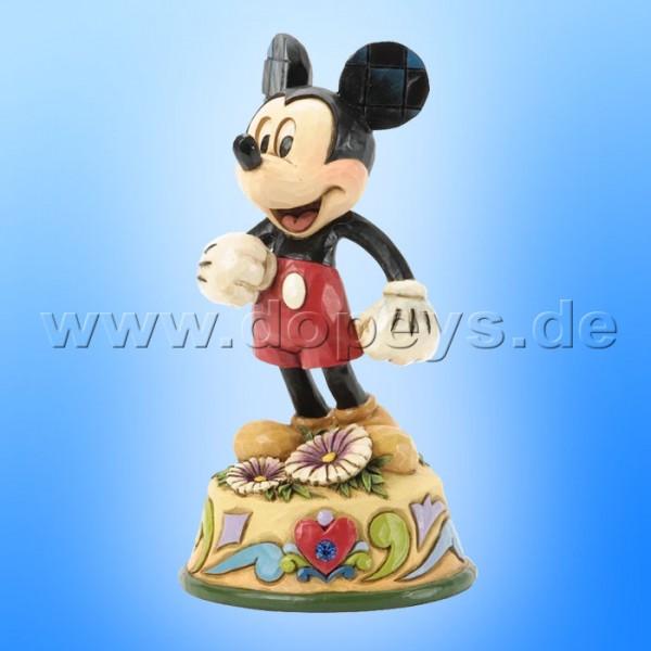 "Disney Traditions / Jim Shore Figur von Enesco ""September (Mickey Maus)"" 4033966."