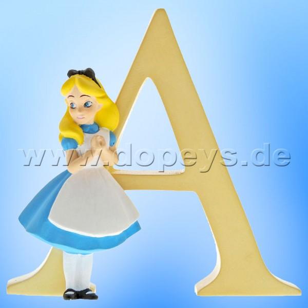 "Enchanting Disney Collection - Buchstabe ""A"" Alice im Wunderland Figur von Enesco A29546"