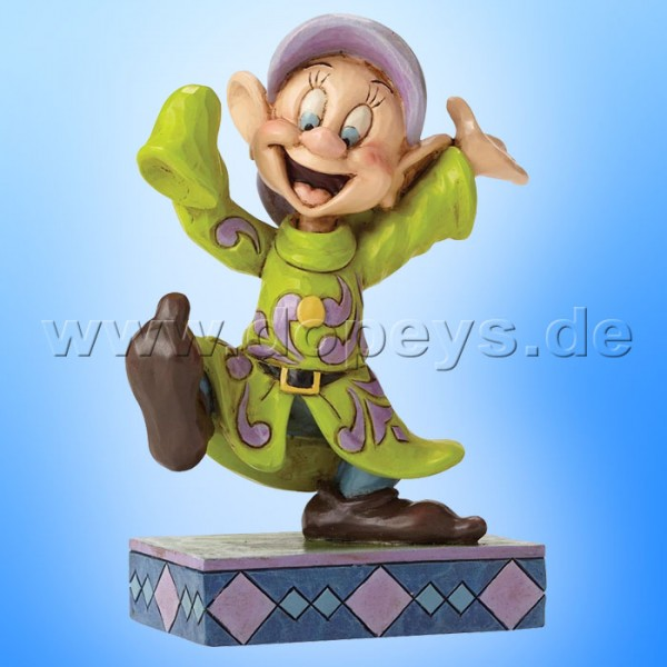 "Disney Traditions / Jim Shore Figur von Enesco.""Dopey Dance (Seppl)"" 4049624."