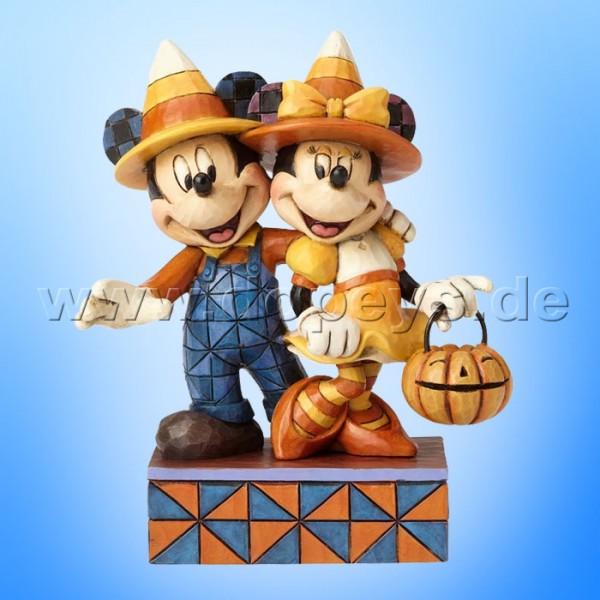 """Disney Traditions / Jim Shore Figur von Enesco """"Countdown To Candy (Zuckermais Mickey und Minnie)"""" 4057948."""