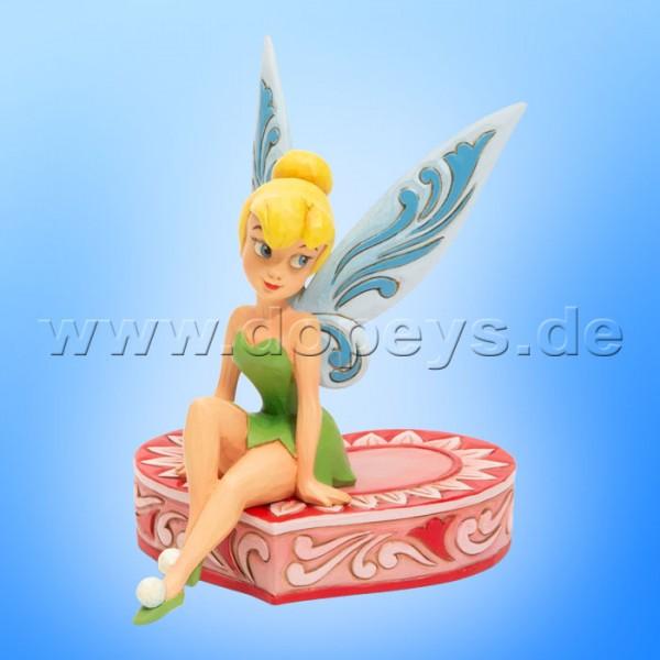 Love Seat (Tinker Bell auf einem Herz) Figur von Disney Traditions / Jim Shore - Enesco 6005966