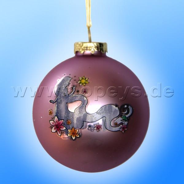"""Kurt S. Adler - Disney Prinzessin """"Rapunzel Silhouette"""" Weihnachtsbaumkugel / Glaskugel in Violett DN01006-B"""