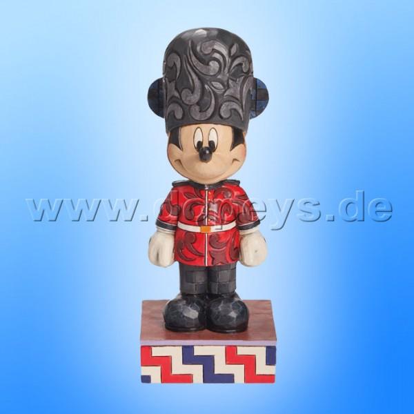 "Disney Traditions / Jim Shore Figur von Enesco ""Greetings from England (Mickey Maus um die ganze Welt)"" 4043630."