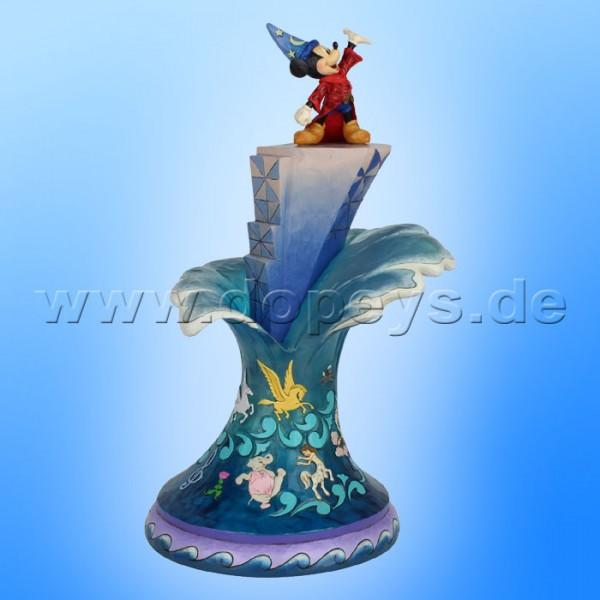 Disney Traditions - Summit of Imagination (Zauberer Mickey Meisterstück) sehr groß von Jim Shore 6007053