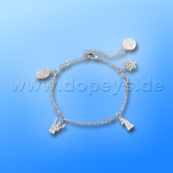 Disney Armband - Kids Charm (Die Eiskönigin 2) in Weißgold von Couture Kingdom 12102611