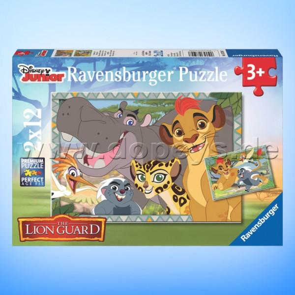 """Disney Puzzles Der König der Löwen """"Beschützer des Königreichs"""" von Ravensburger 07599"""